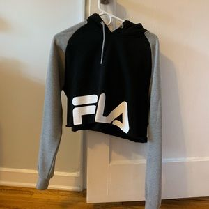 FILA cropped hoodie